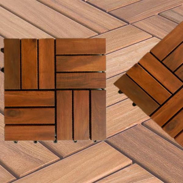 Sàn gỗ vỉ tràm bông vàng