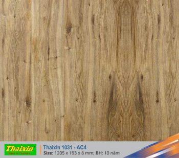 Sàn gỗ Thaixin loại dày 12mm